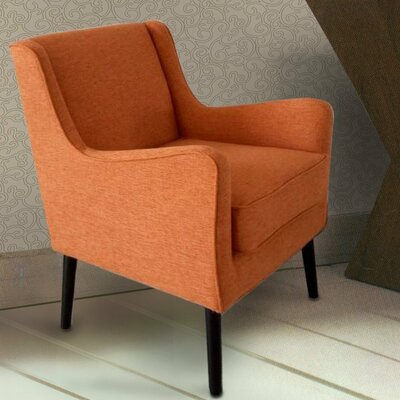 Arm Chair Color: Orange