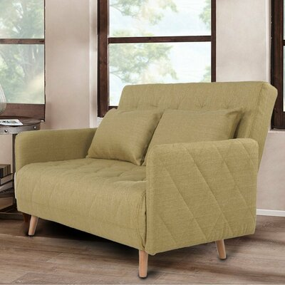 Loveseat Upholstery: Olive
