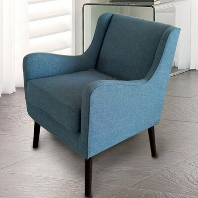 Armchair Color: Blue