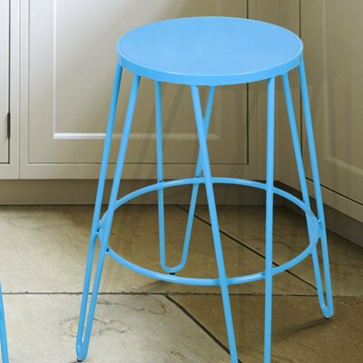26 Bar Stool Finish: Blue
