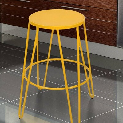 26 Bar Stool Finish: Yellow
