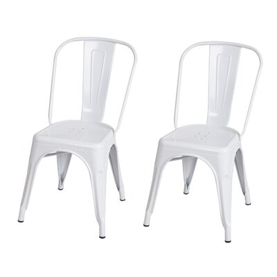 Dining Chair Finish: White