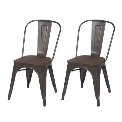Side Chair Finish: Bronze