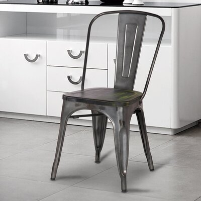 Dining Chair Finish: Gray
