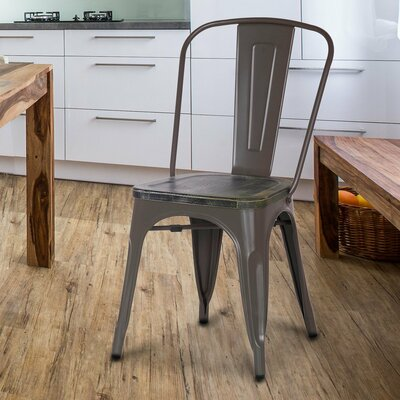 Solid Wood Dining Chair Finish: Coffee