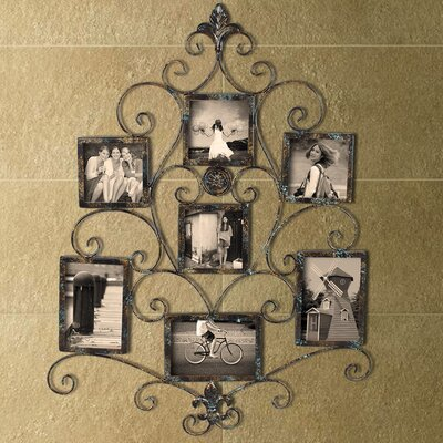 5 Opening Collage Metal Picture Frame