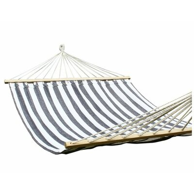 Cotton Tree Hammock Color: Gray and White