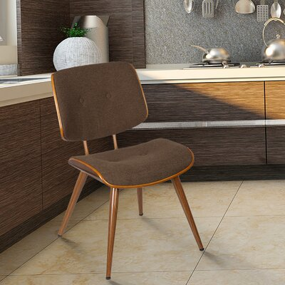 Bentwood Side Chair Upholstery: Coffee