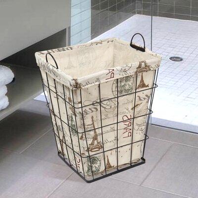 Newspaper Print Styled Multi Purpose Basket BT0015
