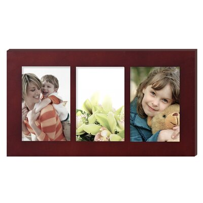 3 Opening Hanging Collage Picture Frame Color: Walnut