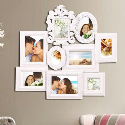 9 Opening Decorative Wall Hanging Collage Picture Frame PF0362