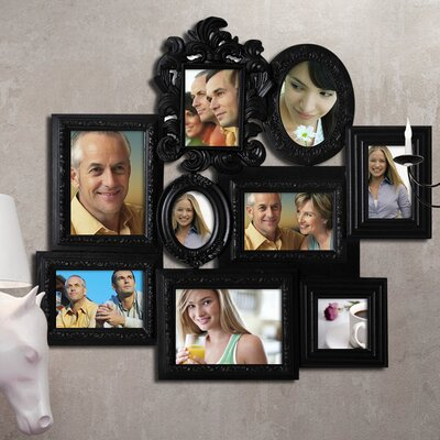 9 Opening Decorative Wall Hanging Collage Picture Frame PF0361