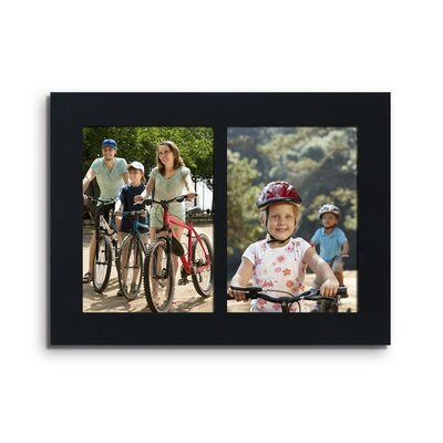 2 Opening Wall Hanging Tabletop Picture Frame