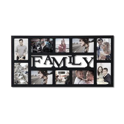 10 Opening Decorative Family Wall Hanging Collage Picture Frame