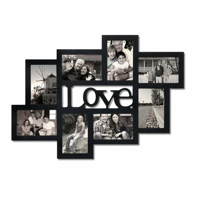 8 Opeing Love Collage Picture Frame