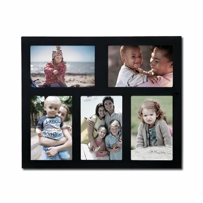 5 Opening Wall Hanging Collage Picture Frame