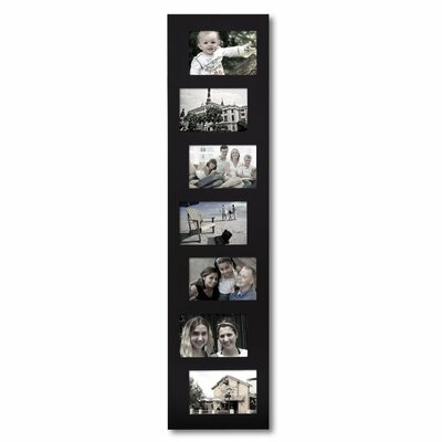 7 Opening Decorative Offset Wall Hanging Collage Picture Frame