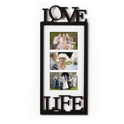 3 Opening Wall Hanging Picture Frame PF0573
