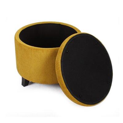 Saddler Storage Ottoman Upholstery: Tan