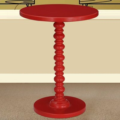 Table Finish: Red