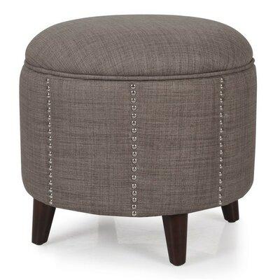 Storage Ottoman Upholstery: Dark Brown