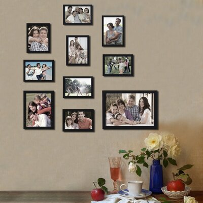 10 Piece Collage Picture Frame Set