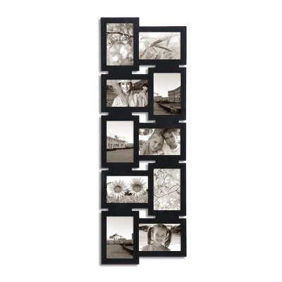 10 Opening Decorative Interlocking Wall Hanging Collage Picture Frame
