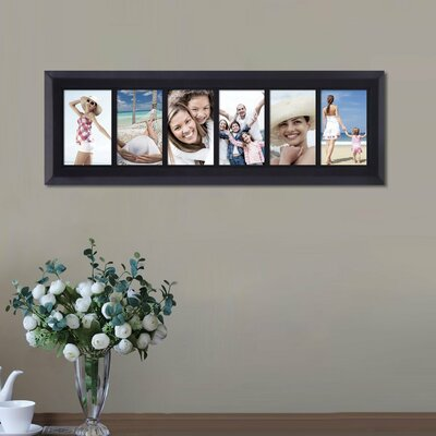 6 Opening Decorative Wall Hanging Divided Picture Frames
