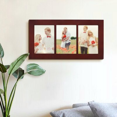 3 Opening Wall Hanging Picture Frame PF0582
