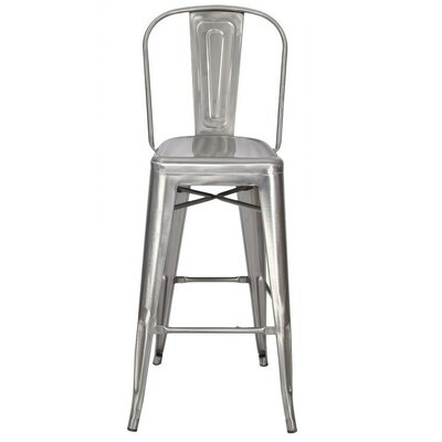 30 Bar Stool Finish: Gunmetal