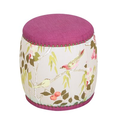Oriental Style Ottoman Color: Rose