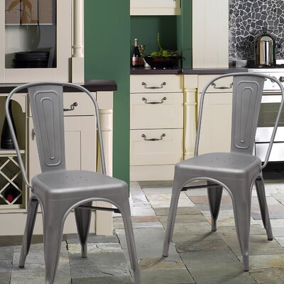 Side Chair Finish: Dark Gray