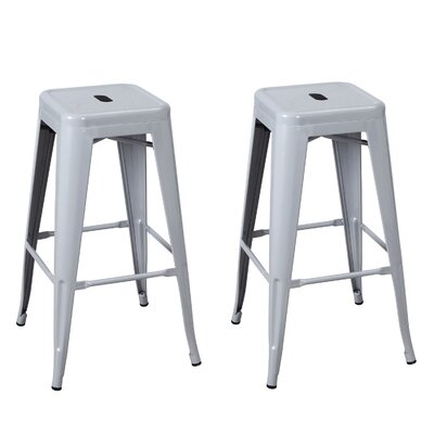 30 Bar Stool Finish: Silver Gray