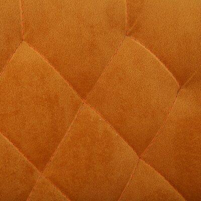 Adjustable Height Swivel Bar Stool Color: Orange