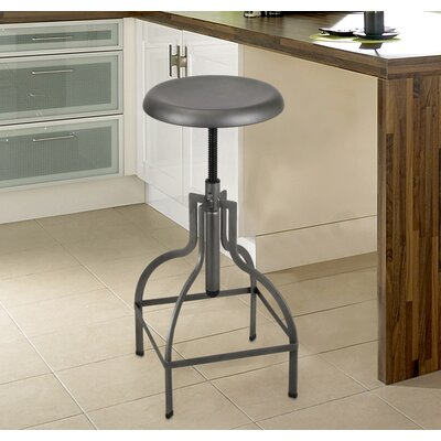 Logan Adjustable Height Bar Stool