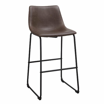 28.9 Bar Stool with Cushion