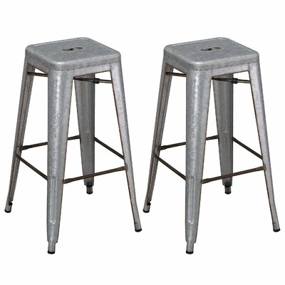 30 Bar Stool Upholstery: Iron