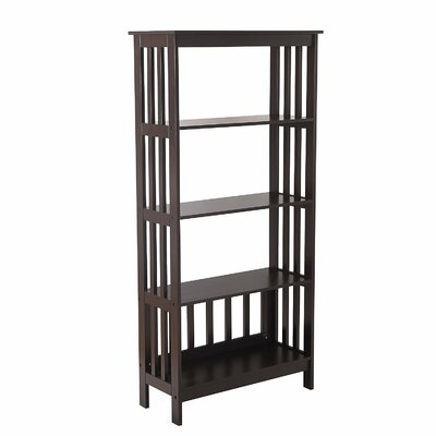 57 Etagere Bookcase Color: Brown