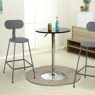 26.2 Bar Stool Upholstery: Dark Gray