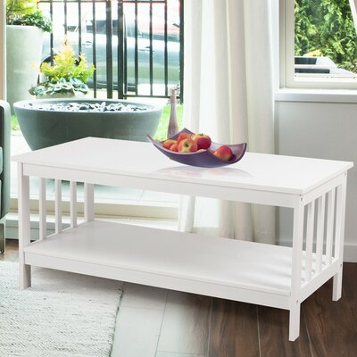 39 TV Stand Color: Ivory White