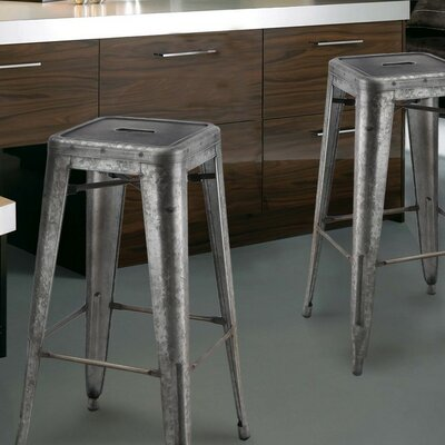 30 Bar Stool Upholstery: Dark Iron