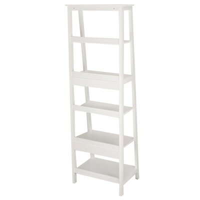 72 Etagere Bookcase Finish: White