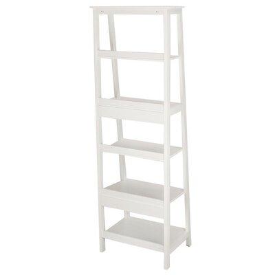 AdecoTrading Etagere Bookcase Finish: White
