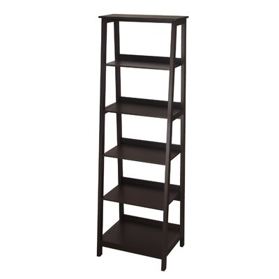 72 Etagere Bookcase Finish: Dark Brown