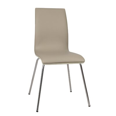Bentwood Parsons Chair Upholstery: Deep Beige