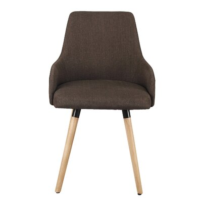 Bentwood Arm Chair Upholstery: Brown