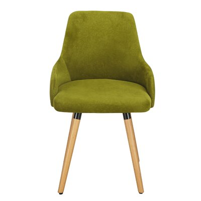 Bentwood Arm Chair Upholstery: Green