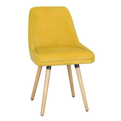 Bentwood Leisure Side Chair Upholstery: Yellow