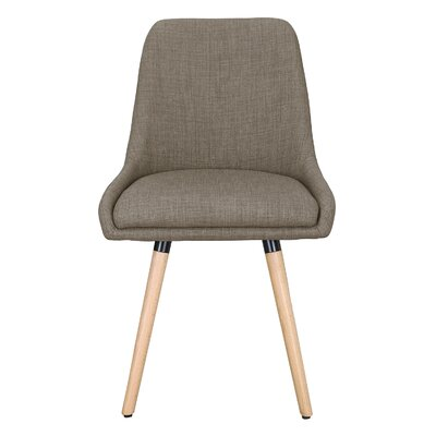 Bentwood Leisure Side Chair Upholstery: Light Brown