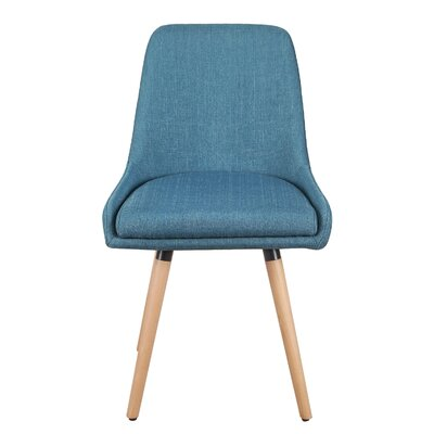 Bentwood Leisure Side Chair Upholstery: Blue